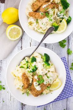 Vegan Chicken Alfredo