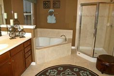 Neo Angle Shower Door by, Coastal.   Paragon Series