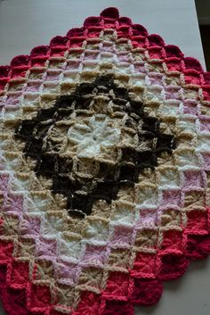 Mom is making this pattern with a variegated....this is nice too