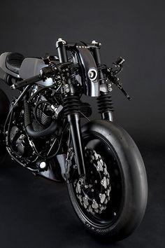 NOUVELLE CUISINE. Le French Atelier's Suzuki DR650 Neo Cafe Racer - Pipeburn.com