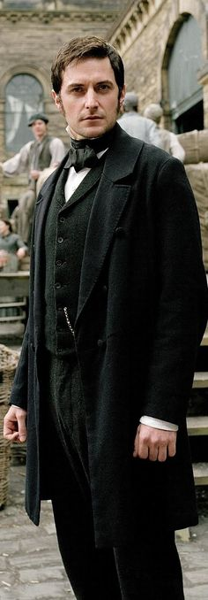 Richard Armitage as John Thornton in BBC North and South