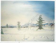 Pian ja nopeasti: joulu tunturimaisema 2011