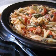 Jackie's Sausage Soup Recipe
