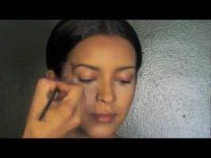 Kim Kardashian Makeup- Eyebrows Tutorial