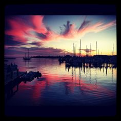 Oriental NC sunset - Heidi WoodPhotography