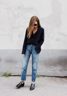 Emma Elwin in her favourite Filippa K garment