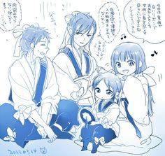 This is so Cute! - The Black hair Ren Family