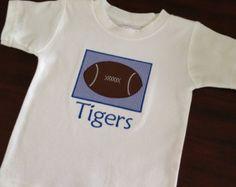 Items similar to Memphis Tigers Peasant Dress with Ruffle Panta on Etsy