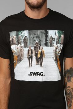 star wars swag... probably the only clothing item i would wear with swag on it