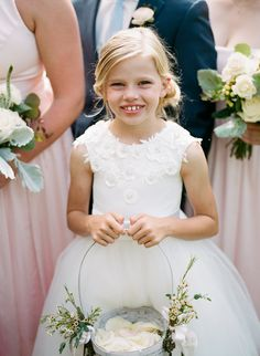 Adorable flower girl #cedarwoodweddings 05.26.18 :: Kelsie + David | Cedarwood Weddings