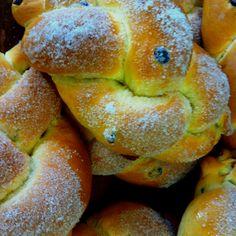 Trecce dolci con uvetta di Romeno Val di Non