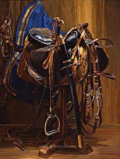 Cossack saddle