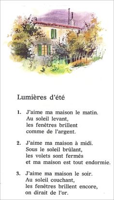 French Words Quotes, Basic French Words, French Poems, How To Speak French, Learn French, French Language Lessons, French Lessons, French Practice, French Course