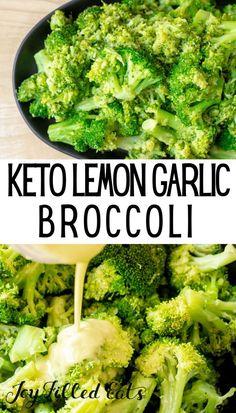 Garlic Broccoli Side Dish Recipe Low Carb Keto THM S GF