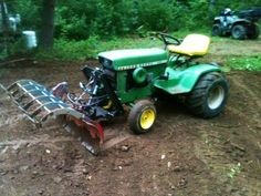 Originally Posted by Made something similar to a deck-wrecker that someone on here talked about for tearing pallets apart for some Tractor Snow Plow, Tractor Drawbar, John Deere Garden Tractors, Jd Tractors, Utility Tractor, Garden Tractor Attachments, John Deere 318, Homemade Tractor, Tractor Accessories