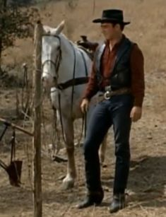 James Drury The Virginian Doug Mcclure, Clint Walker, James Drury, Hot Cowboys, Actor James, The Virginian, Tv Westerns, All Smiles, Favorite Tv Shows