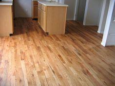Install Red Oak - After - Golden Oak Stain | Flickr - Photo Sharing!