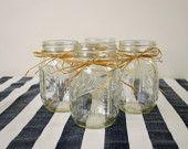 Country Style Mason Jars -
