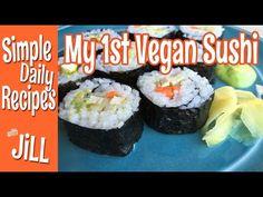 My First Time to Make Vegan Sushi