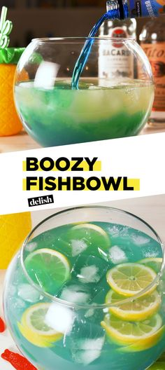 It's A Party With This Boozy Fishbowl Delish