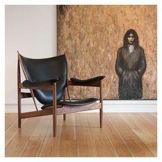 House of Finn Juhl Finn Juhl Chieftain Chair by onecollection Alvar Aalto, Danish Modern Furniture, Contemporary Furniture, Modern Armchair, Modern Chairs, Custom Area Rugs, Unique Home Accessories, Kartell, Luminaire Design