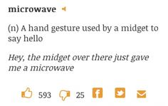 Microwave. Not what you might think.