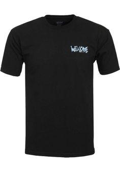 Welcome Sloth, T-Shirt, black Titus Titus Skateshop #TShirt #MenClothing #titus #titusskateshop