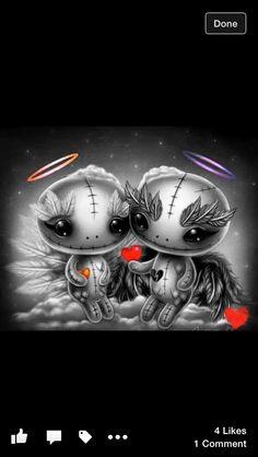 Gv Voodoo Doll Tattoo, Voodoo Dolls, Emo Art, Goth Art, Halloween Drawings, Halloween Art, Arte Horror, Horror Art, Gothic Poems
