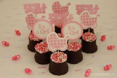 Diy Party, Party Gifts, Mini Blt, Little Presents, Oreo Pops, Mini Donuts, Reveal Parties, Sweet Sixteen, Gender Reveal