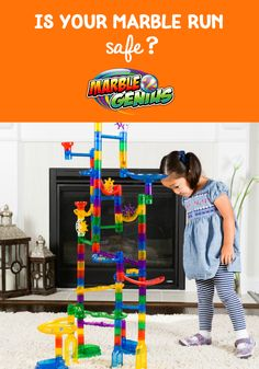 Is Your Marble Run Safe? - Learn the toy safety standards in the U. today + Marble Genius's standards to ensure all their marble run toys are safe. Hands On Learning, Learning Through Play, Marble Toys, Steam Toys, Building Toys, Kids Toys, Safety, Running, Tips