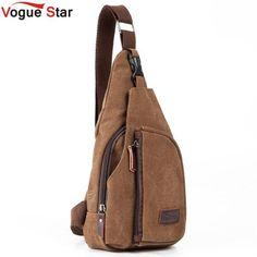 Backpack - Fashion Canvas Messenger Bag Or Casual Travel Bag