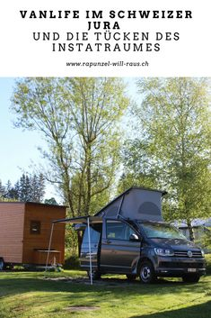 Vanlife im Schweizer Jura | Rapunzel will raus Us Travel, Family Travel, Camping In Deutschland, Reisen In Europa, Campervan, Germany Travel, Van Life, Wonderful Places, Travel Photos