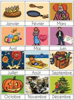 Les mois de l'année French Teaching Resources, Teaching French, French Numbers, Core French, French Phrases, French Teacher, French Lessons, Classroom Displays, Home Schooling