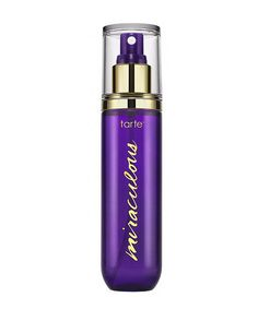 This Makeup-Setting Spray Won't Leave Your Skin Chalky #refinery29 http://www.refinery29.com/tarte-miraculous-maracuja-setting-spray-review