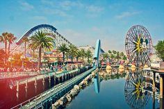 California Adventures, located adjacent to Disneyland. Always a good time!