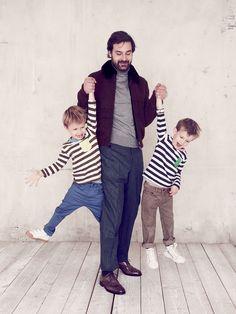Gilles et ses fils Arthur et Eliott // Gilles and his sons Arthur and Eliott - émoi émoi