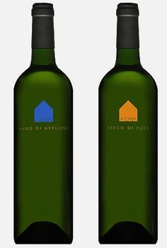 Massimo Vignelli simplicity in #wine #packaging PD