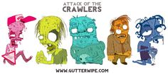 Attack Of The Crawlers on Behance
