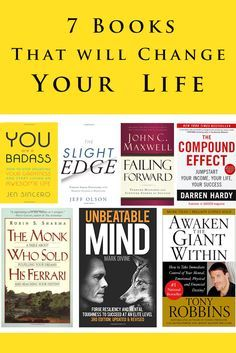 7 Books that will change your life - Amy Silverman Fitness