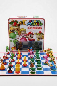 Super Mario jogo de xadrez