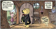 El corazón delator... Versión pooh!! :)