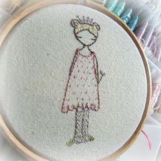 ♒ Enchanting Embroidery ♒  princess wellies - cute embroidery