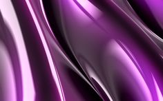 Download wallpapers purple waves, 4k, 3d art, abstract waves, curves, creative