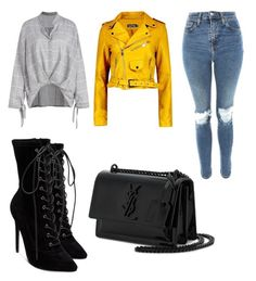 """""""Untitled #111"""" by boturovic-kristina on Polyvore featuring Topshop, Steve Madden, Boohoo and Yves Saint Laurent"""