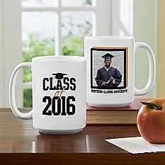 Happy Graduation Celebration Photo Mug