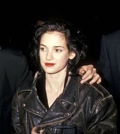 Winona Ryder Fashion, News, Photos and Videos - Vogue Winona Ryder 90s, Winona Ryder Style, Dark Brunette, Brunette Models, Winona Forever, 90s Hairstyles, Fair Skin, Role Models, My Idol