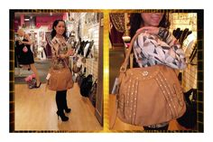 With a hint of Bling & the PURRRfect tone of Brown. It's the PURRRfect handbag for all year round!
