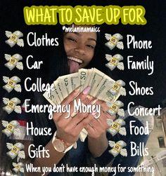 - Finance tips, saving money, budgeting planner Ways To Save Money, How To Get Money, Money Saving Tips, Girl Advice, Girl Tips, Girl Life Hacks, Girls Life, Making Money Teens, Jobs For Teens
