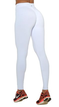 c67ed26dcf Brazilian Workout Legging - Scrunch Booty Lift! Compression White Sporty  Outfits, Gym Outfits,