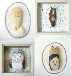 Victoria Whincup, portrait soft sculptures